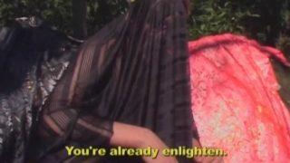 Démontage de cul dans la forêt