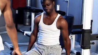 Une séance de muscu particulière